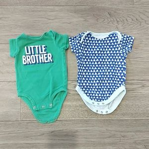 Pair of Onesies size 3-6 Months